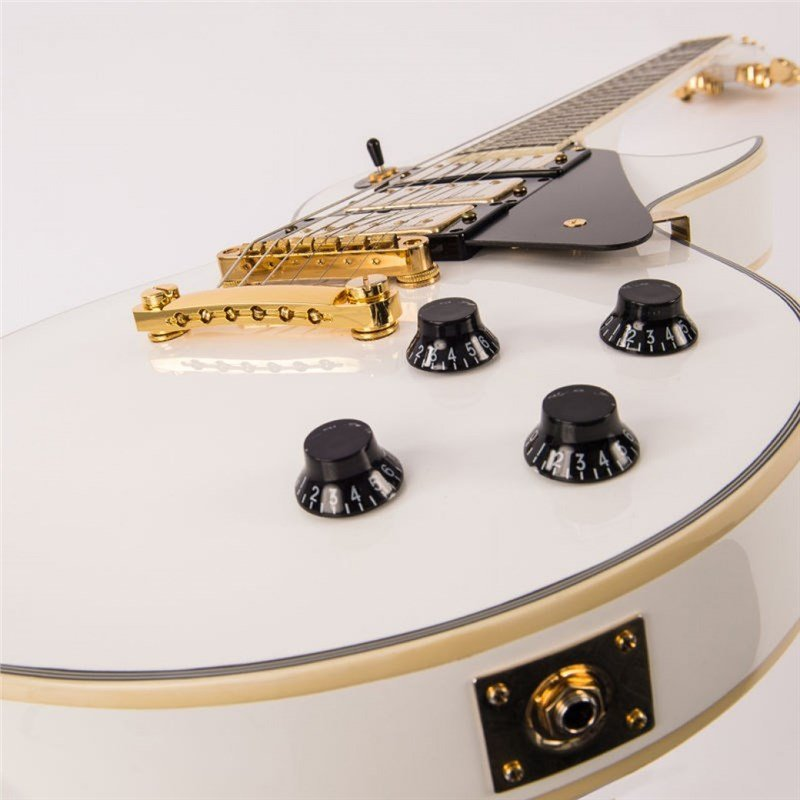 Guitarra Vintage Les Paul V1003 ReIssued Arctic White