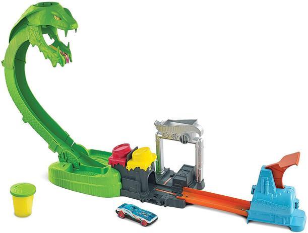 Hot Wheels City Ataque Tóxico Da Serpente GTT93 - Mattel