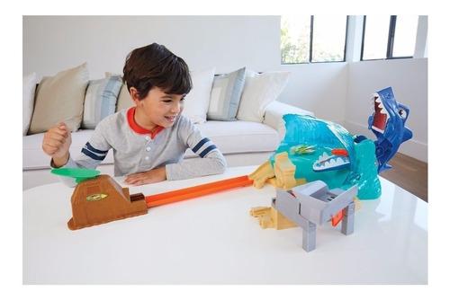 Hot Wheels City Conjunto Ataque Tubarão FNB21 - Mattel
