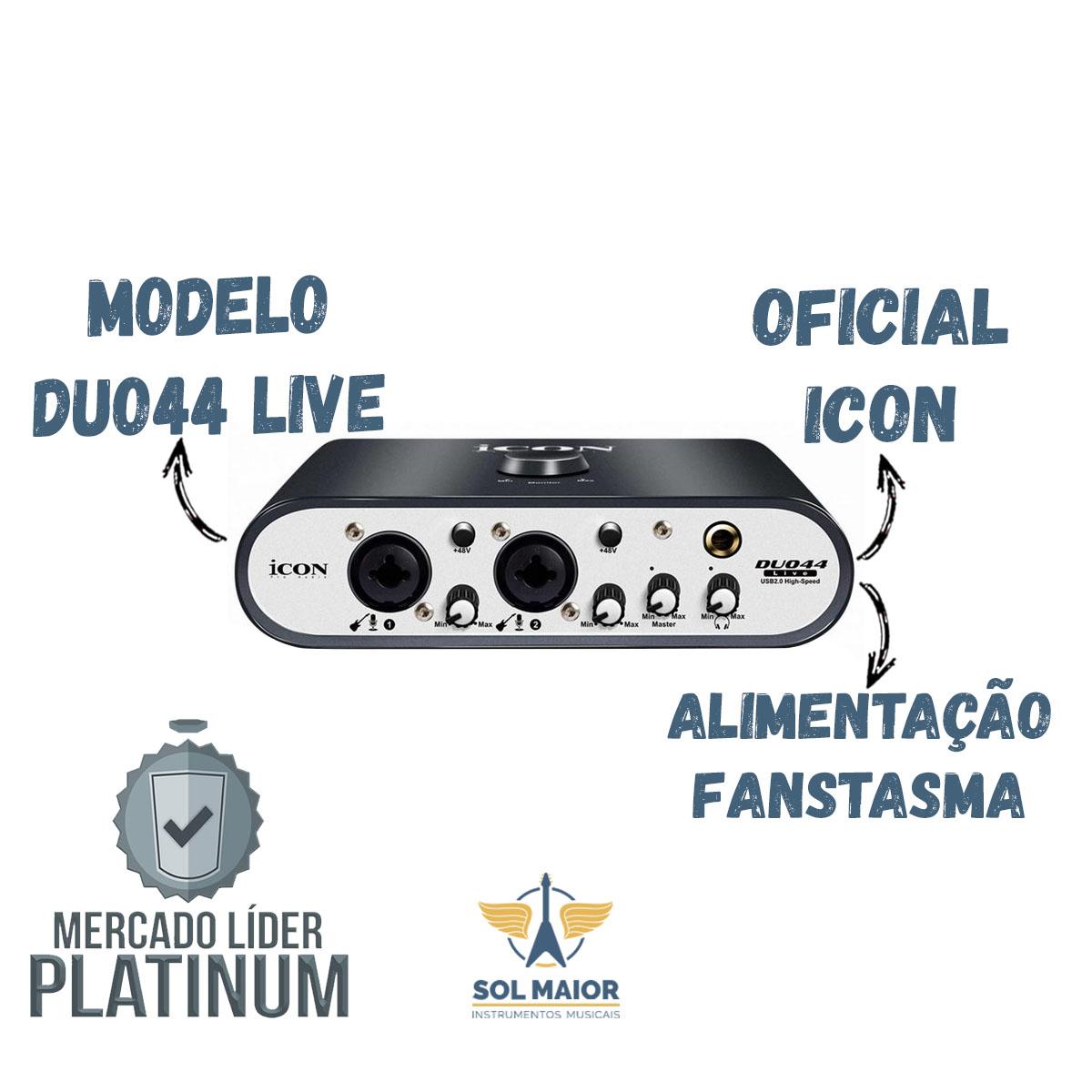 Interface De Áudio 2 Canais Usb Duo 44 Icon