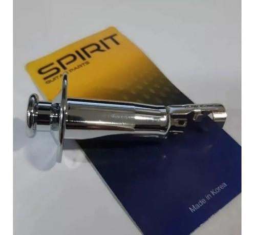 Jack Para Violão Cilindrico Roldana Tm7-cr - Spirit