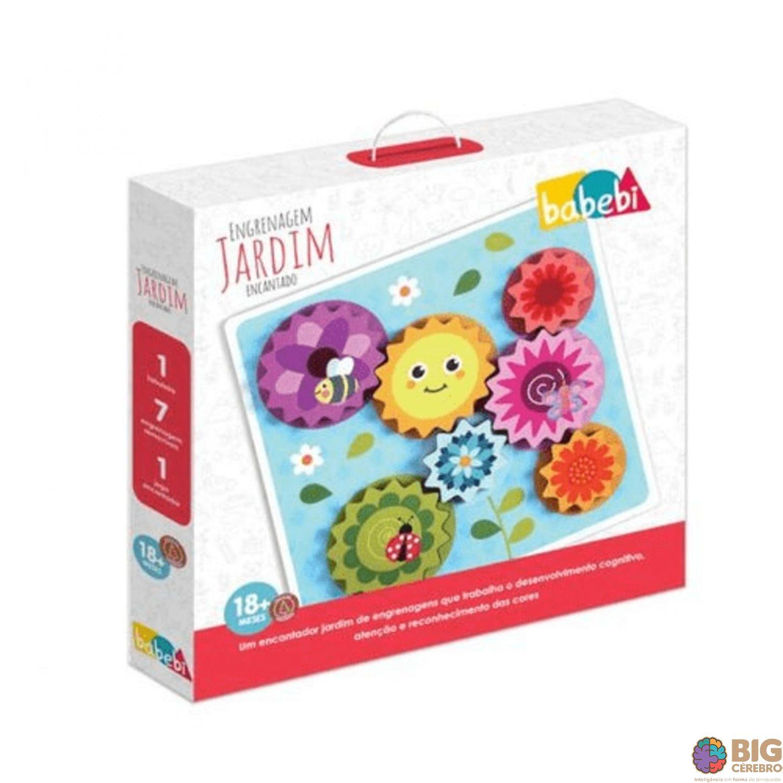 Jardim da engrenagem - Brinquedo educativo Babebi - 6005