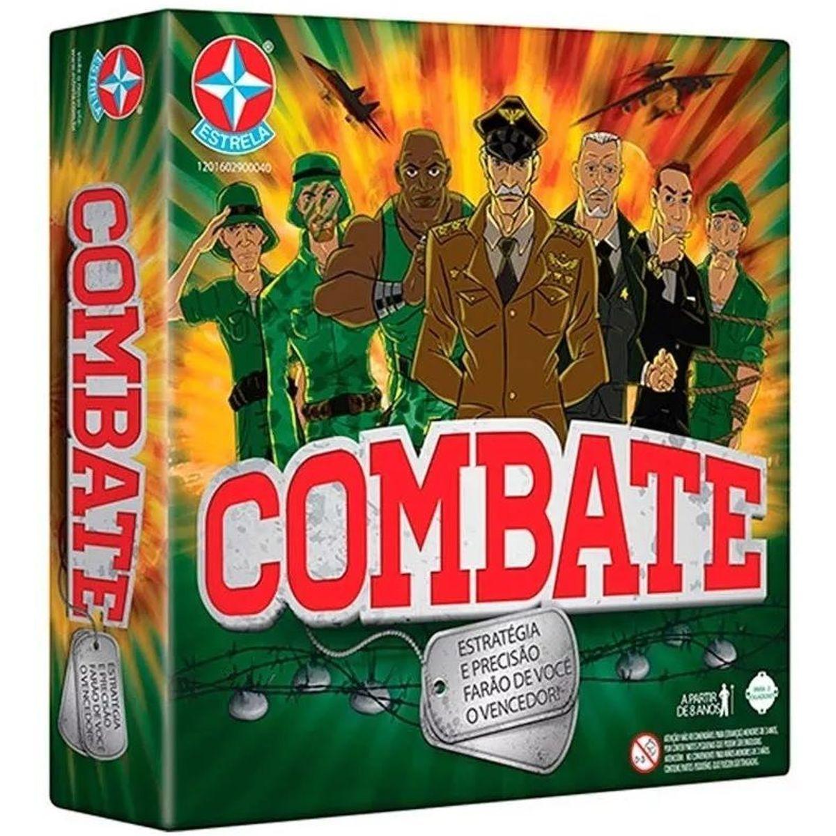 Jogo Combate Original - Estrela Estratégia e Precisão
