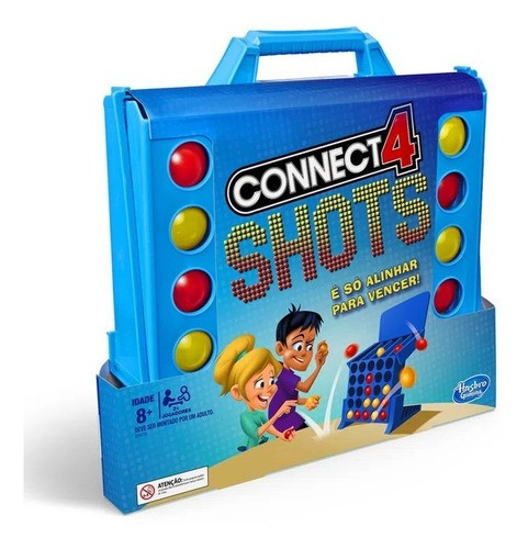 Jogo Connect 4 Shots Original - Hasbro E3578