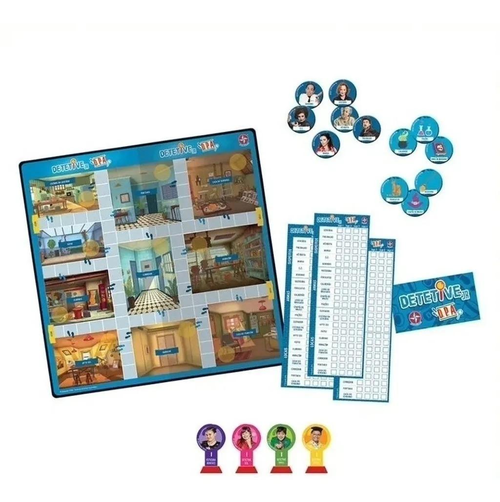 Jogo Dpa Detetive Do Prédio Azul Jr - Brinquedos Estrela