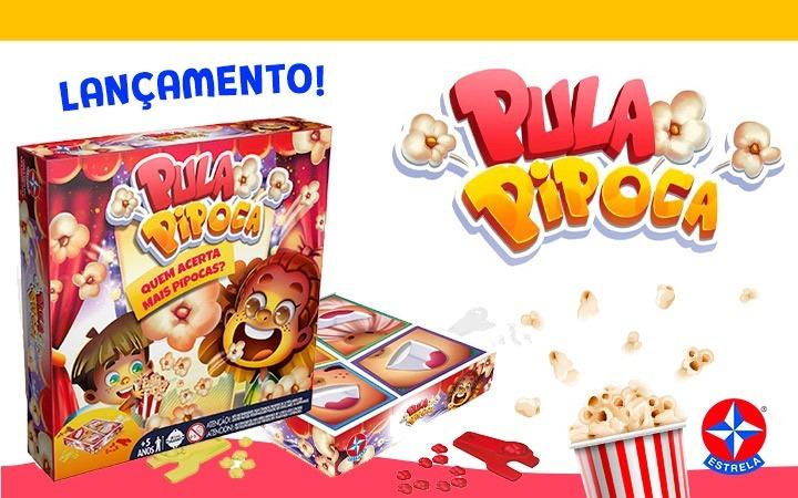 Jogo Pula Pipoca - Lançamento - Estrela