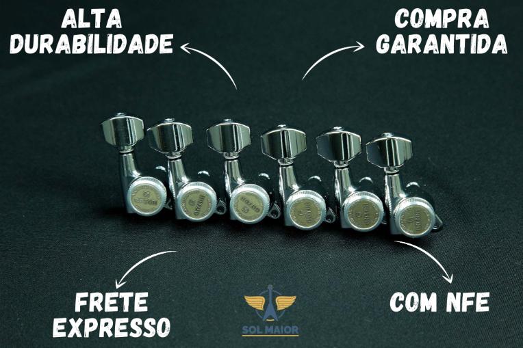 Jogo Tarraxa Gotoh SG381-MG-T 07 Cromada