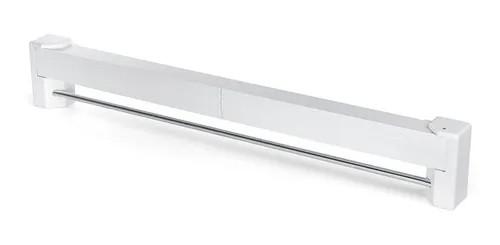 Kit 2 Varais de Parede Retrátil Branco 70cm Ordene OR16390