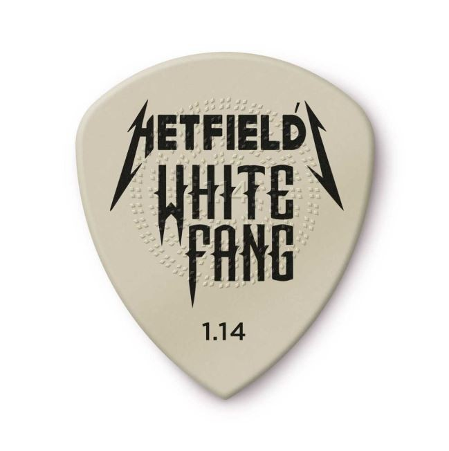Kit 6 Palheta 1.14mm James Hetfield White Fang Dunlop 13094