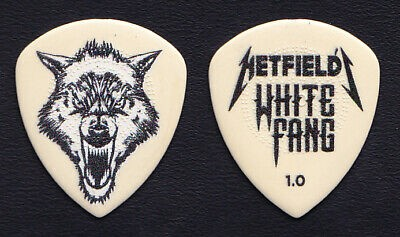 Kit 6 palhetas 1.0mm James Hetfield White Dunlop - 13093