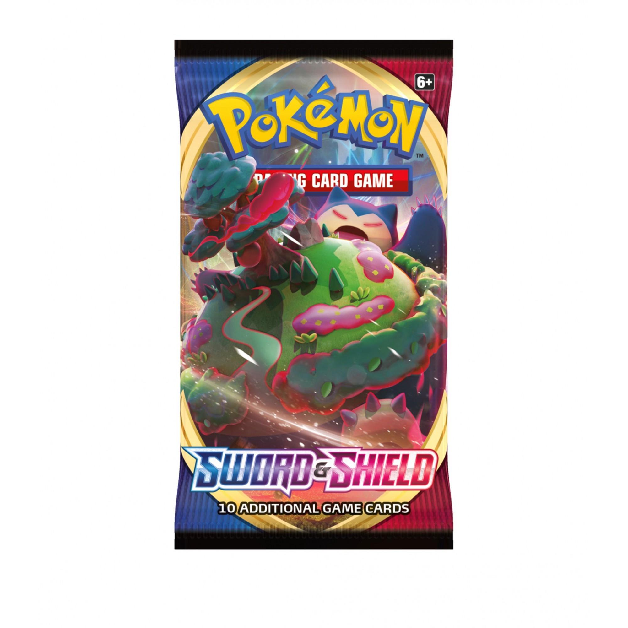 Kit com 2 Blisters Pokémon Espada e Escudo - 12 Cartas