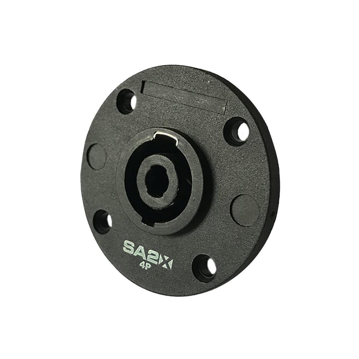 KIT Conector Speaker Macho/Fêmea 4 Polos - Painel/Linha SA2X