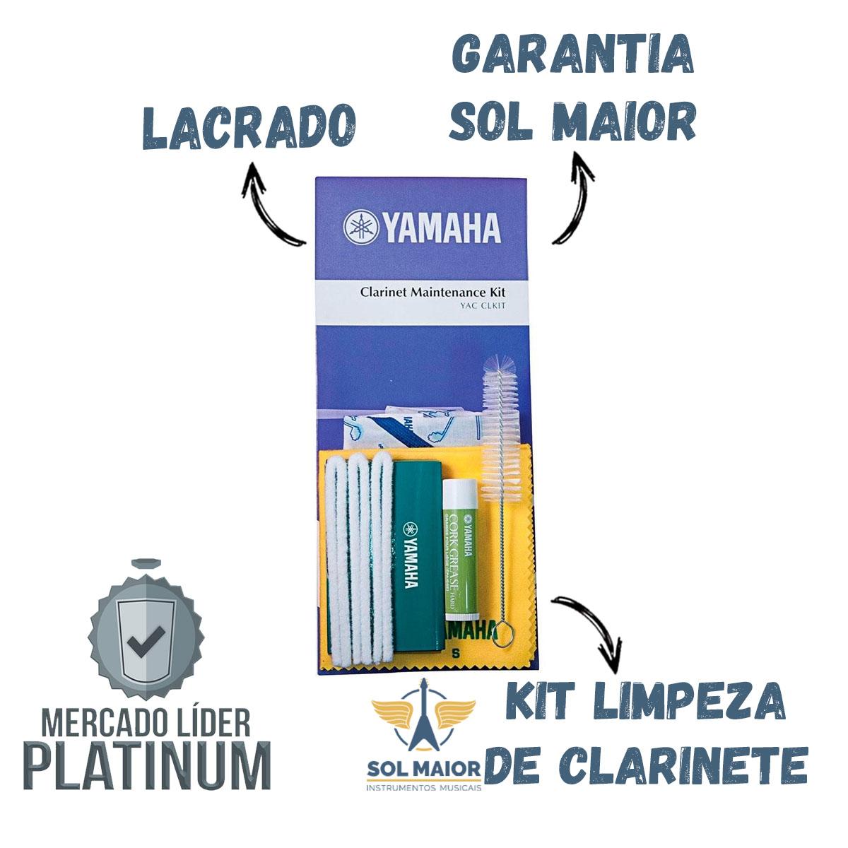 Kit de Limpeza para Clarinete Yamaha CL-M com 6 Produtos