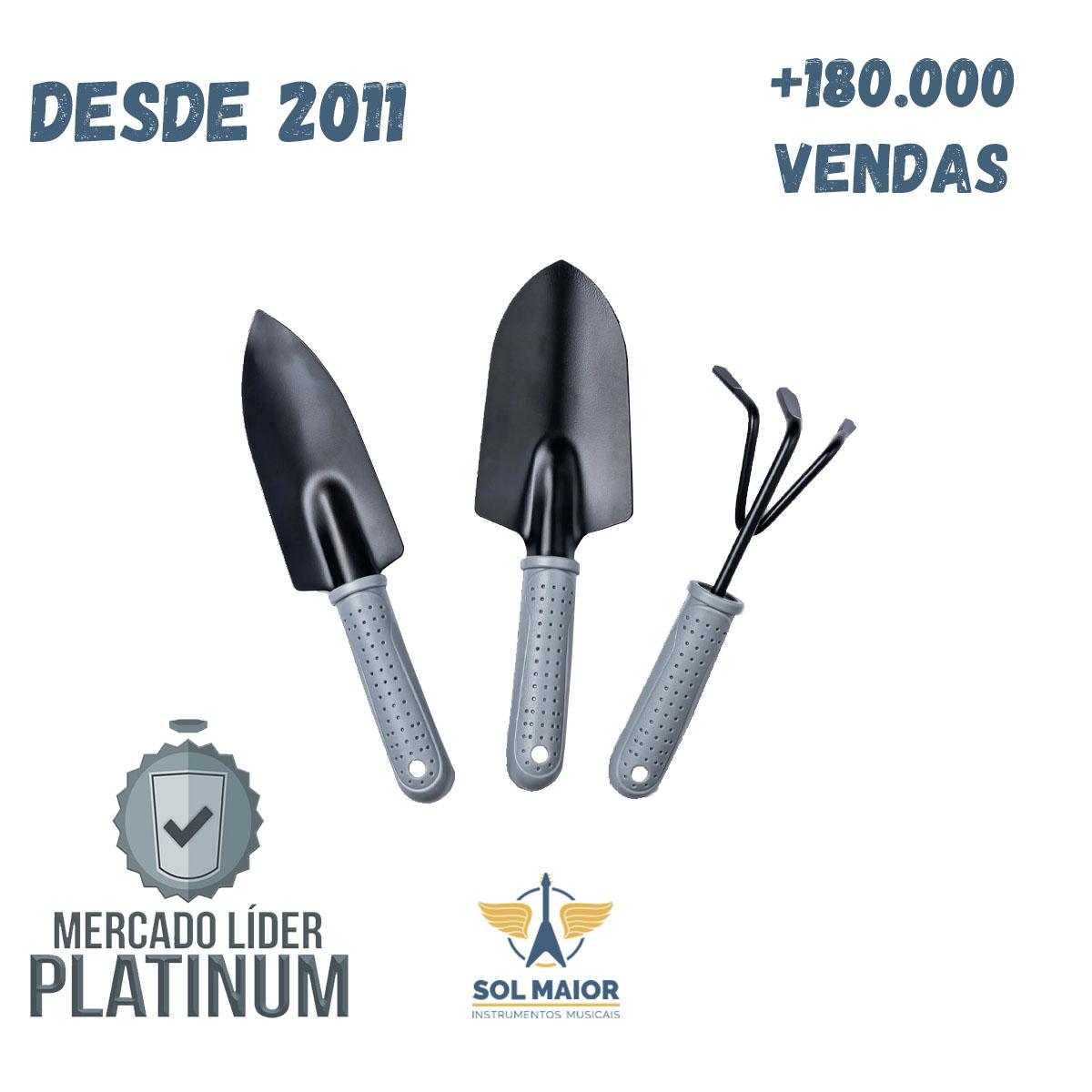 Kit Ferramentas Jardinagem RAIZ - Tamanho Grande