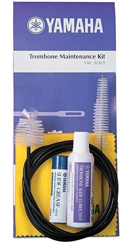 Kit Limpeza Para Trombone Yamaha Sl-m Com 5 Produtos