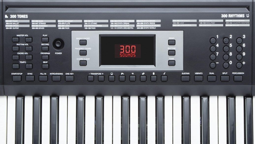 Kit Teclado Alesis Melody61 De 61 Teclas Com 300 Sons