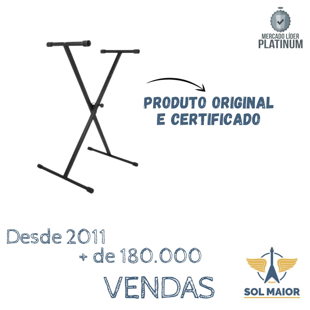 Ks7190 On-stage Stands Estante Para Teclado Simples Em X