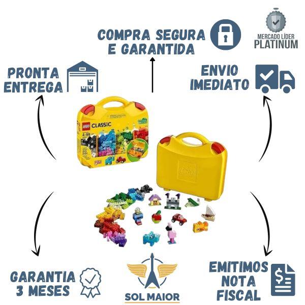 Lego 10713 Classic Maleta Criativa Original