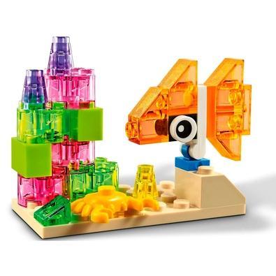 Lego 11013 Classic - Blocos Transparentes Criativos