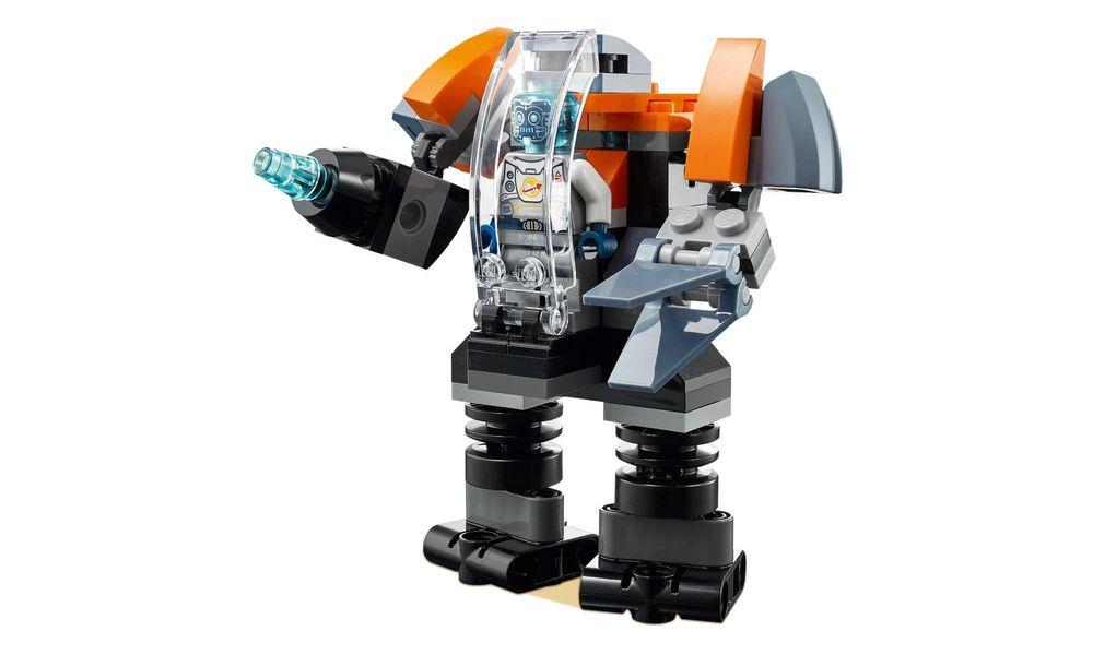 Lego 31111 Creator 3 Em 1 Ciberdrone Nave Robô - 113 Peças