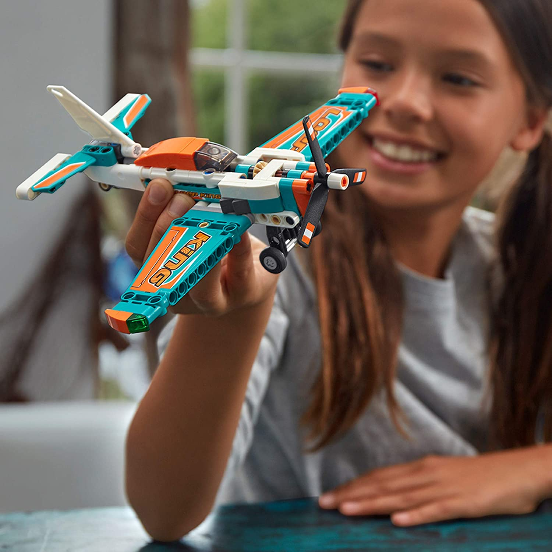 Lego 42117 Technic 2 Em 1 Avião De Corrida 154 Peças