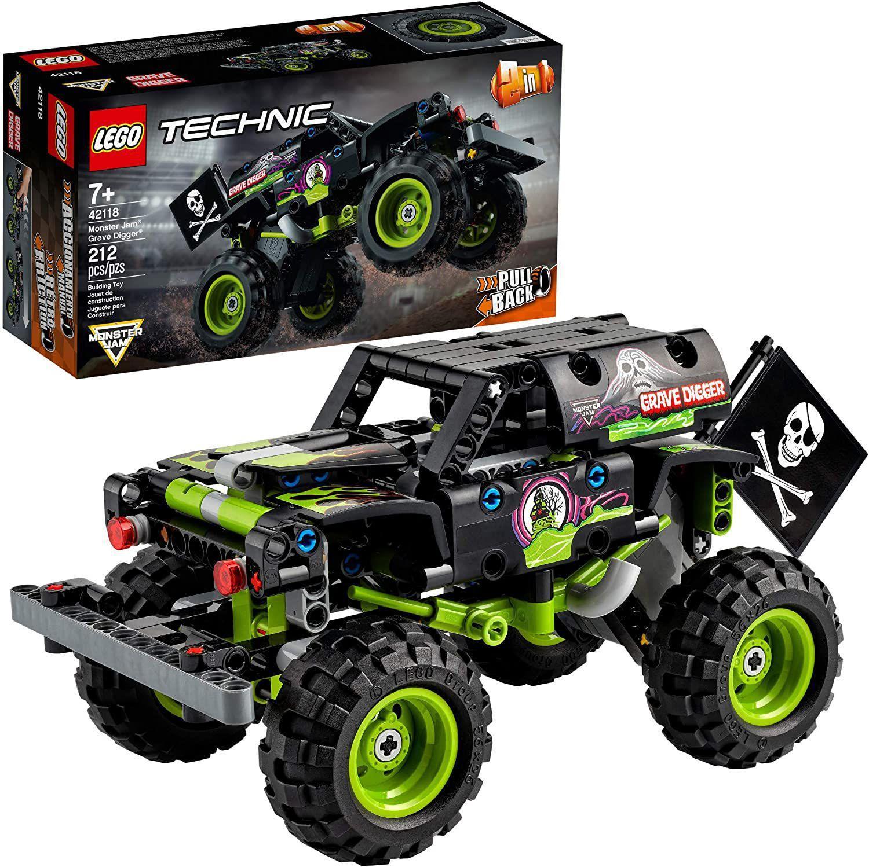 Lego 42118 - Technic 2 Em 1 Monster Jam Grave Digger 212 Pçs