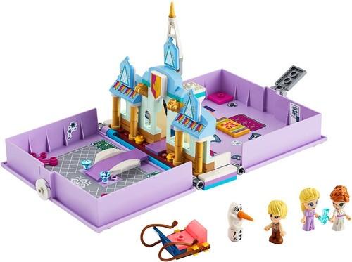 Lego 43175 - Aventuras Do Livro De Contos Da Anna E Da Elsa