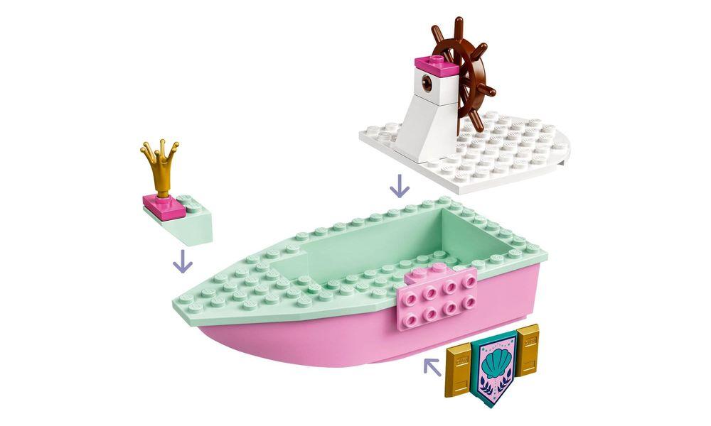 Lego 43191 Disney Princess Barco De Cerimônia De Ariel