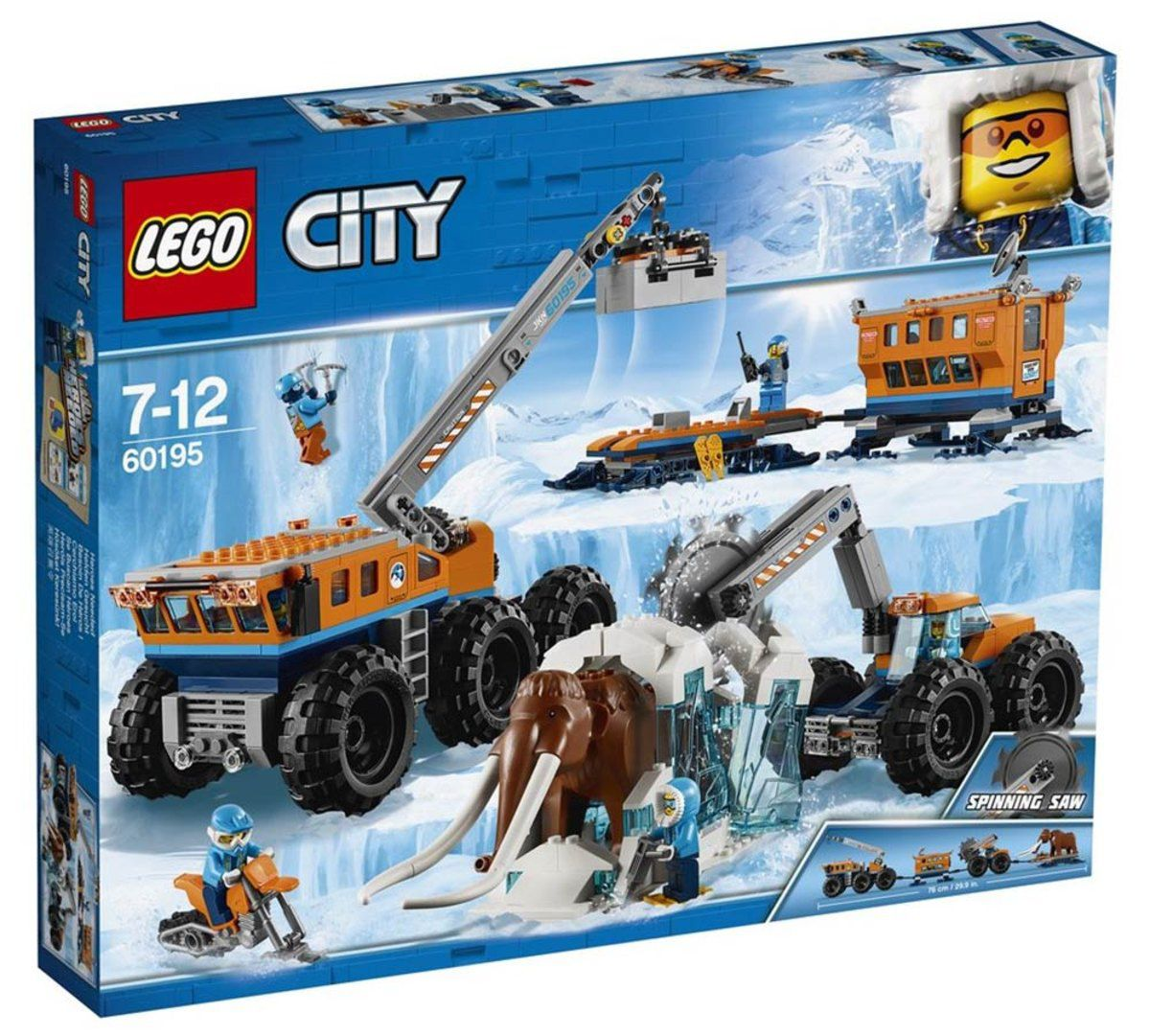 Lego 60195 City Base De Exploração Móvel Do Ártico