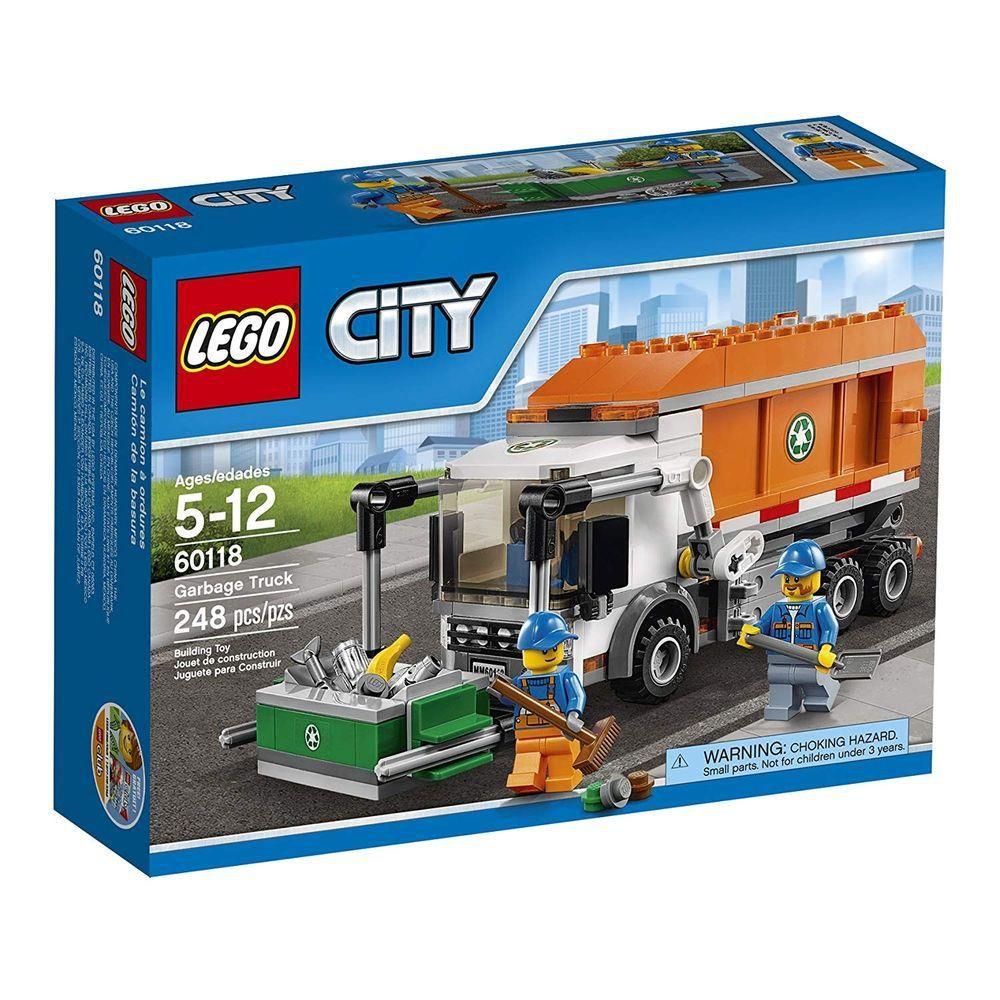 Lego 60220 City Caminhão De Lixo 90 Peças