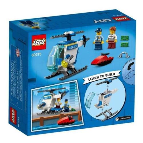 Lego 60275 City Veiculo Helicoptero Da Policia - 51 Peças