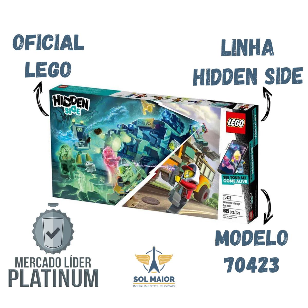 Lego 70423 Hidden Side - Onibus Interceptor Paranormal 3000