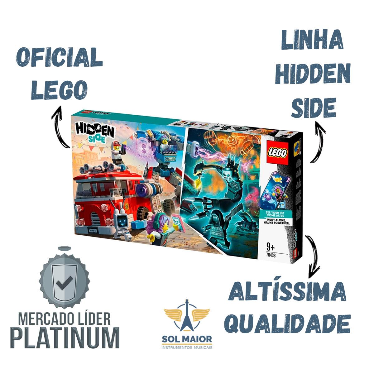 Lego 70436 Hidden Side - Caminhão de Bombeiros Fantasma 3000