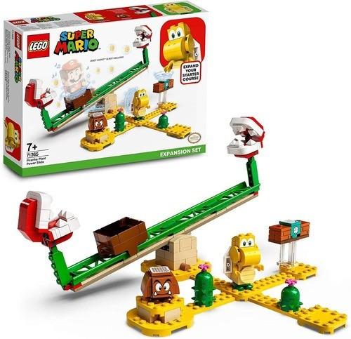 Lego 71365 Super Mario Derrapagem Da Planta Piranha Expansao