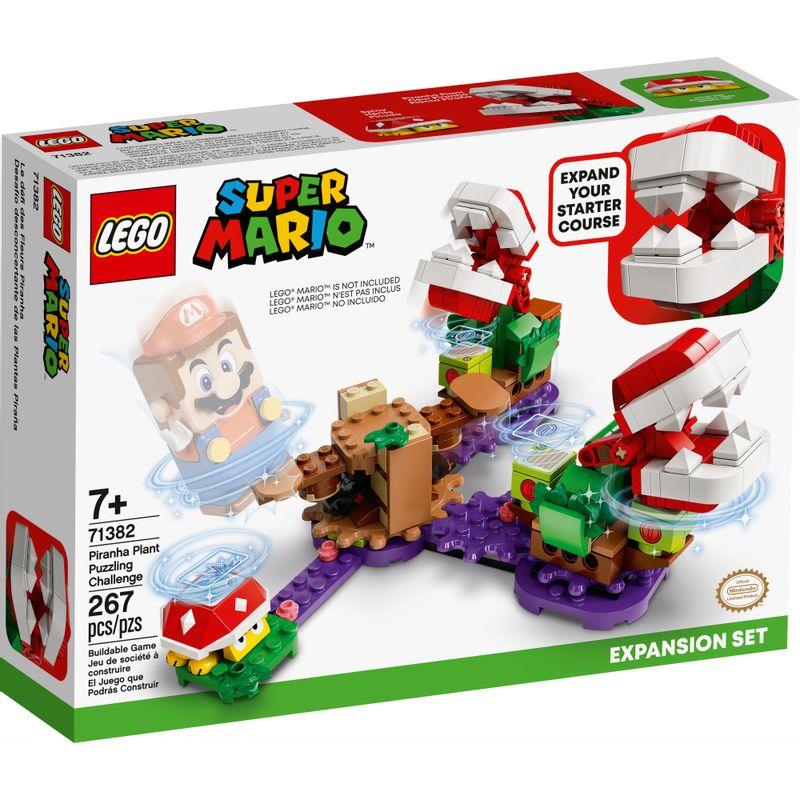 Lego 71382 - Mario Expansão O Desafio Das Plantas Piranhas