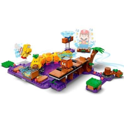 Lego 71383 - Super Mario Pacote De Expansão Pântano Venenoso