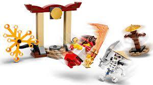 Lego 71730 Ninjago Conjunto De Combate Épico Kai Vs Skulkin