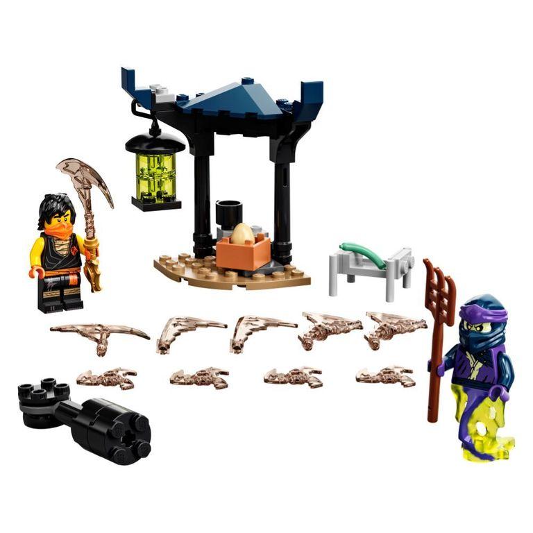 Lego 71733 Ninjago Combate Épico Cole Vs Guerreiro Fantasma