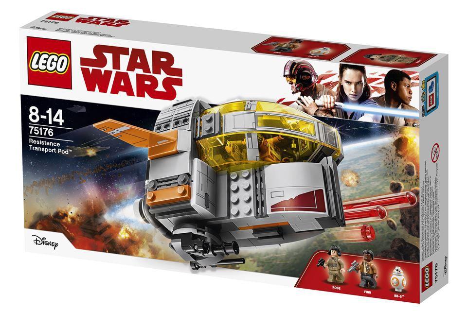 Lego 75176 Star Wars Pod de Transporte da Resistencia