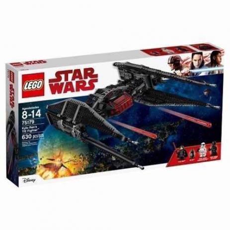 Lego 75179 Star Wars Viii Kylo Rens Tie Fighter - 294 Peças