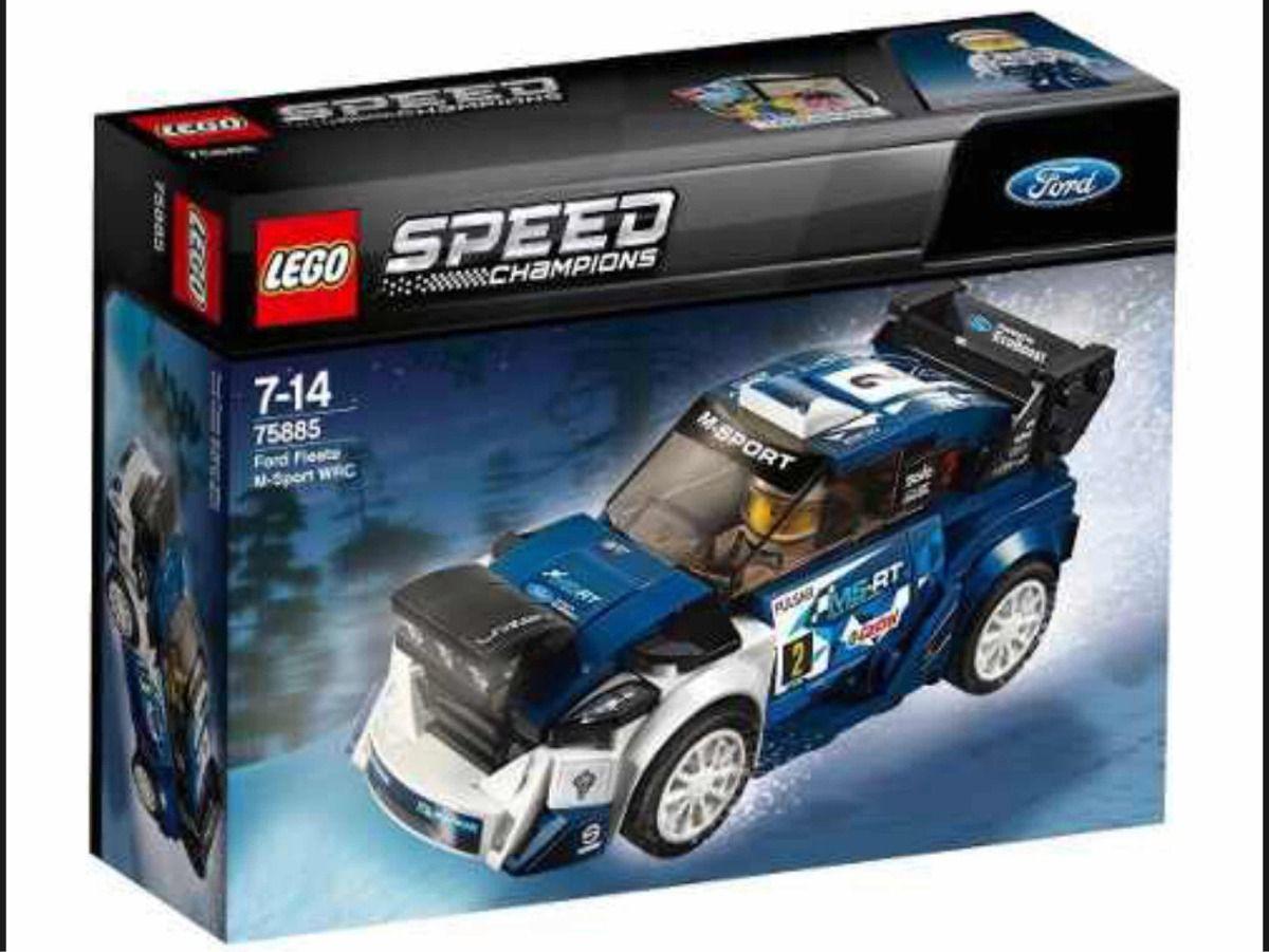 Lego 75885 - Ford Fiesta Wrc Rally M Sport - Speed Champions