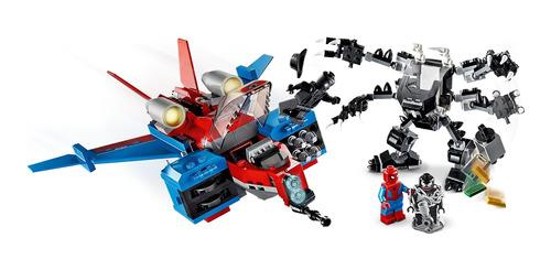Lego 76150 Marvel Super Heroes Spider Jet Vs Robo Venom Mech