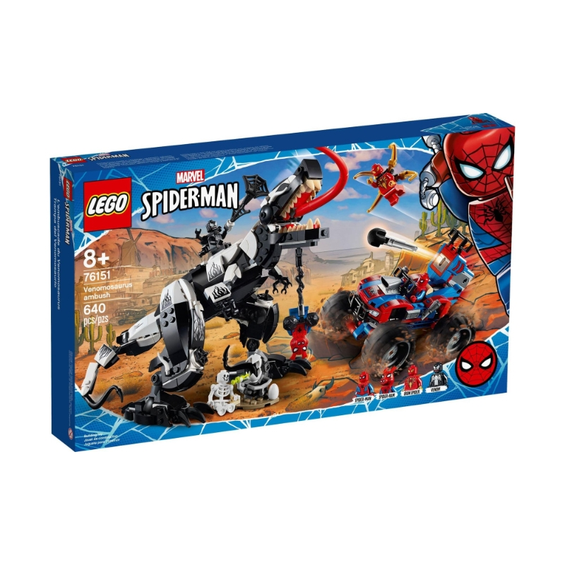 Lego 76151 Marvel - Homem Aranha Emboscada: A Venomosaurus