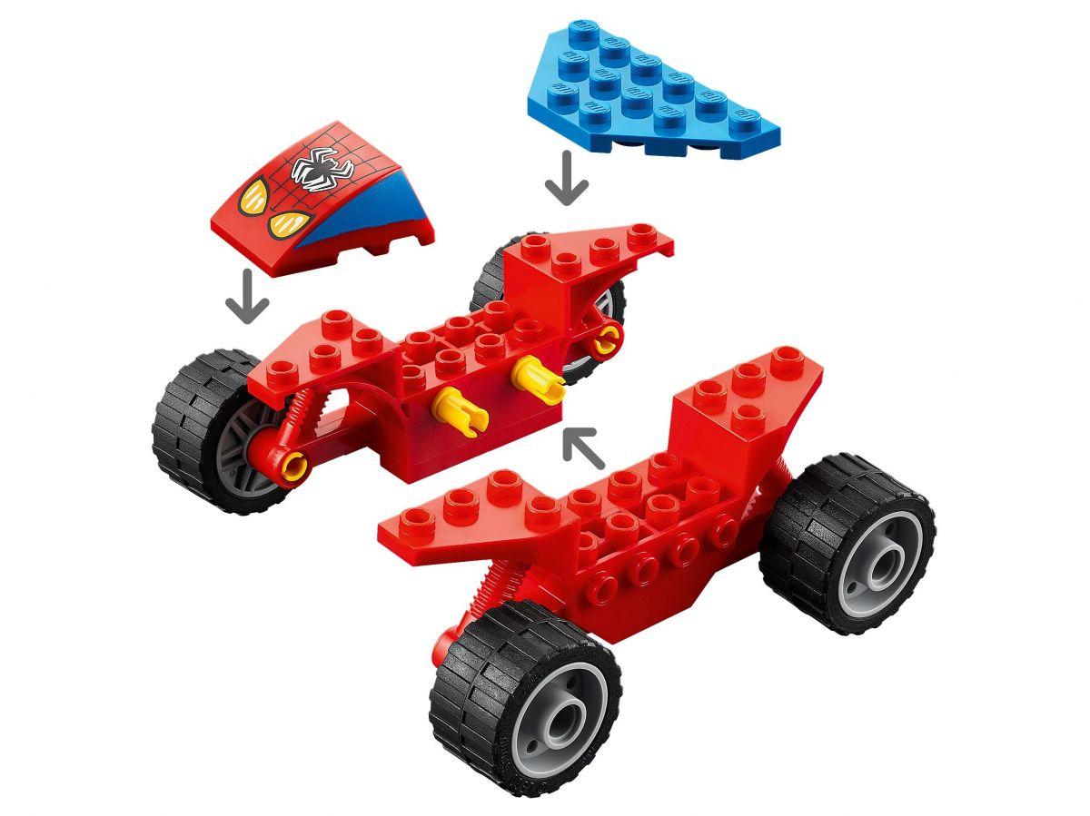 Lego 76172 Super Heróis - Confronto Homem Aranha Vs Sandman