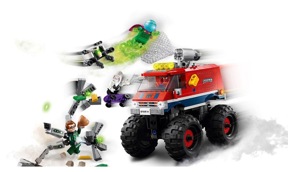 LEGO 76174 Marvel O Monster Truck Homem-Aranha vs Mysterio