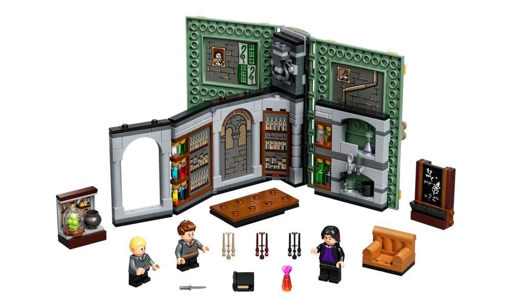 Lego 76383 Harry Potter - Momento Hogwarts Aula De Poções