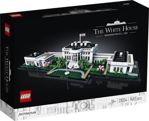 Lego Architecture 21054 - Casa Branca White House - 1483 Pçs