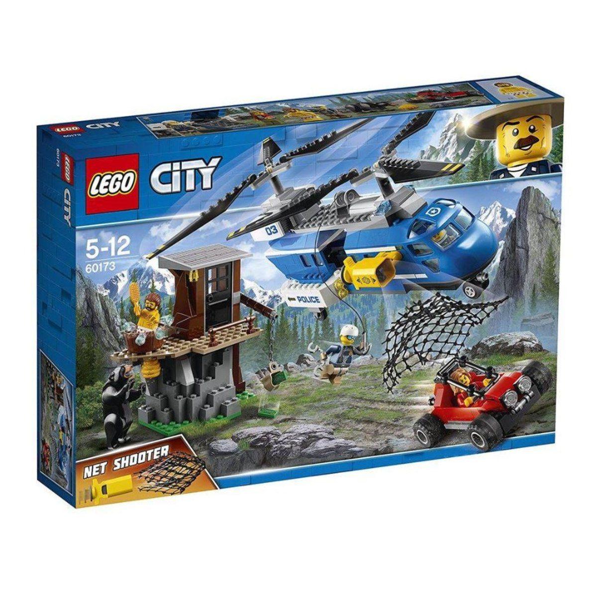 Lego City 60173 Detenção Na Montanha