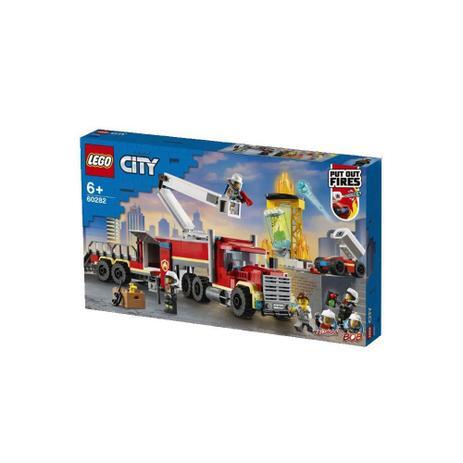 Lego City 60282 - Unidade De Controle De Incêndios
