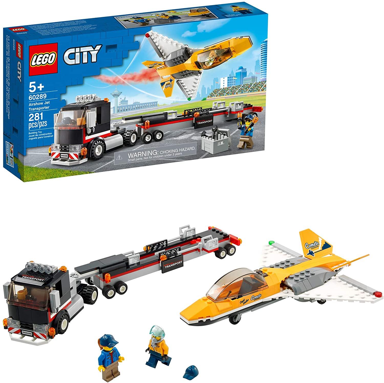 Lego City 60289 Transportador De Avião De Acrobacias Aéreas